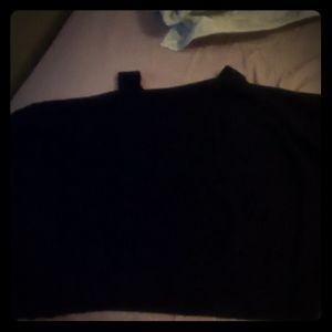 Cokd shoulder sweater